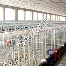 galvanized welded rabbit farming cages