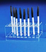 Transparent Desk Acrylic Cubic Pen Display