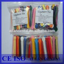 [AiFan Dental ] High quality dental instruments orthodontic elastic elastic ligature tie for good market