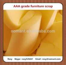 pu foam scrap form furniture factory in china