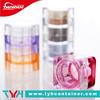 5ml PS plastic cosmetic square pots