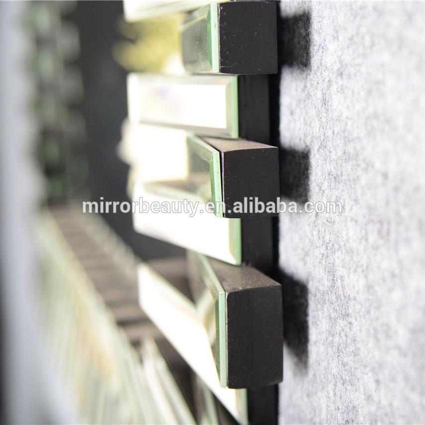 Pas cher 3d design d coratif miroir mural verre gros - Miroir mural pas cher ...