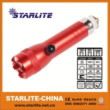 New Supply rechargeable led flashlight waterproofed
