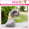 Sweet pattern wholesale dog dress,lovable dress for small dogs