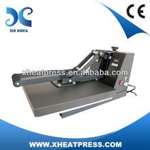 flat custom plastisol heat transfers heat press machine