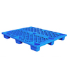 plastic pallet 1000x1000x140mm single face 9 feet grid top