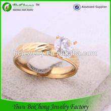 Alibaba 2014 pulseras de moda joyas acero quirurgico anillos de oro 18k