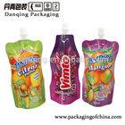 Poly Bag For Juice Spout Pouch,Food Packaging Spout Pouch for Juice/Lliquid Stand up Pouch with Spout