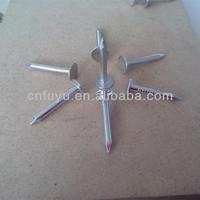 hot sale copper aluminium galvanized clout nail 25kg factory china