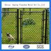 Galvanized Chain Link Dog Garden Fence