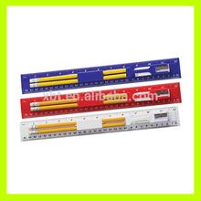 Multifunction Ruler with pen holder