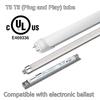 electronic ballast compatible t8 led tube bulb