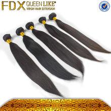 2014 Fadianxiu natural 8 brazilian silky straight wave hair