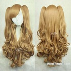 light brown synthetic ponytail