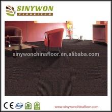 Strip Design 100% PP Office Carpet Tile
