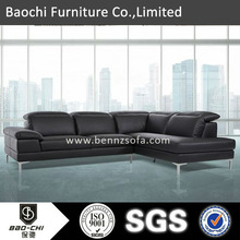 BAOCHI first sight great sofa,best office furniture,light leather sofa S1344
