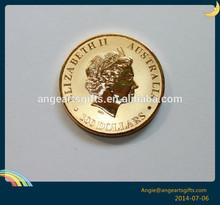 Elizabeth Australia 100 Dollars 3D Gold coins