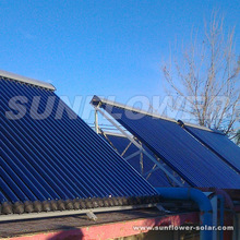 Made in china Gas water heater + Solar collector Cost
