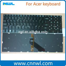 Supply brand new laptop keyboard for Acer 5830 5755G V3-571G V3-572 V3-570 US layout high quality