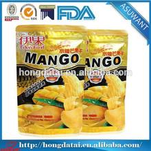 Eco-friendly custom biodegradable ziplock plastic food packaging