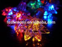 Christmas Star Multi Color LED String Lights