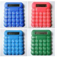 Silica gel Calculator for children, mini bubble calculator/ HLD-824