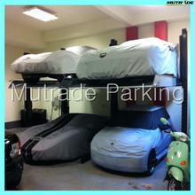 2 Columns Two Posts Legs Duplex 2 Sedan Hydraulic Garage Two Car Parking