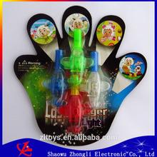 4 color pack light finger led,party led emergency finger lighting lamp,led finger light beam