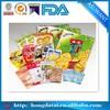 Printed biodegradable heat sealing plastic food packaging bags