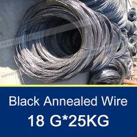 18 Gauge Black Iron Annealing Wire/Soft Black Iron Annealing Wire