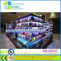 Myidea names fashional mobile phone shop design/cell phone accessory kiosk