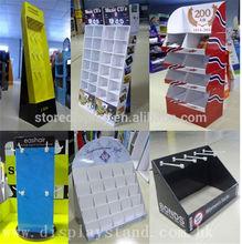 football wall mounted cardboard display case / stand