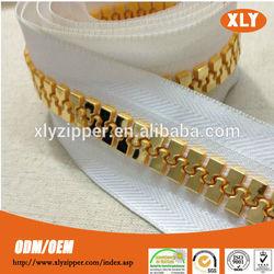 fancy zipper manufacturer plastic new gold chain design for men