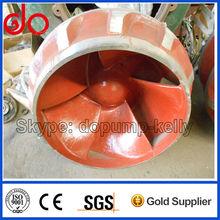 slurry gravel dredge sand pump impeller A05
