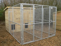 Wire Mesh Fencing Dog Kennel(Factory)