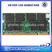 Import China goods ETT chips 2x1GB pc2700 ddr laptop memory 2gb