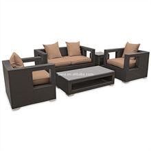 Outdoor Rattan 5-piece Set hobbies leisure set- rattan used patio furniture modern sofa rooms to go outdoor furniture