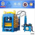 Tijolo do molde da máquina de processamento de bloco usado planta de produção na índia marca dongyue qt 6- 15b( 40 projetos na índia)
