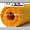 100% wool fabric with Yellow color/ Yellow wool felt for home textile or craft(ROSH and REACH certification)