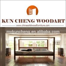 modern bedroom design/solid wood princess bed/bedroom furniture set