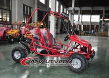 Racing kids 4 wheel air cooling go kart