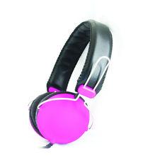 2014 custom printed LOGO raw materials optical high bass grado cheap stylish DJ overhead headphones