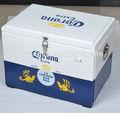 a cerveja corona metal cooler