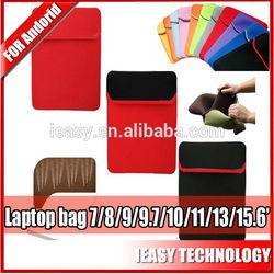 Leading professional fashion style neoprene women laptop bag