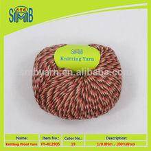 on sale good quality hand knitting woolen yarn