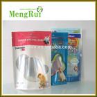 Stand up ziplock pet food bag