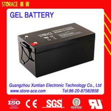 Solar Energy Outdoor Equipment 12v 250ah gel pack battery
