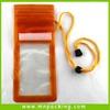 New Customized Eco-friendly Ziplock PVC Waterproof Mobile Pouch