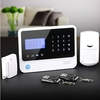 LCD Screen!!Wireless GSM intruder alarm system panel,wireless home control system with mobile phone APP on IOS/Android