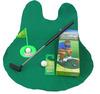 Toilet Golf Tee Time Toilet Potty Putter Golf Golfing